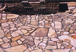 Patio and Walkways: Natural Stone Patio